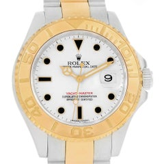 Rolex Yachtmaster 40 Steel Yellow Gold Men's Watch 16623 Box Card