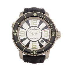 2009 Blancpain Fifty Fathoms 500 Fathoms Titanium 50015-12b34-52b Wristwatch