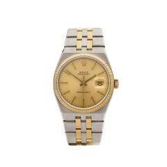 1969 Rolex Oyster Quartz Steel & Yellow Gold 17013 Wristwatch