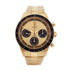 1970 Rolex Daytona Yellow Gold 6264 Wristwatch