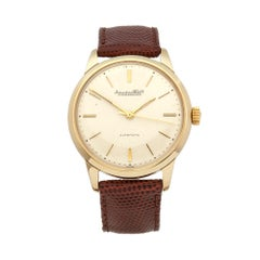 1960 IWC Vintage Yellow Gold Wristwatch