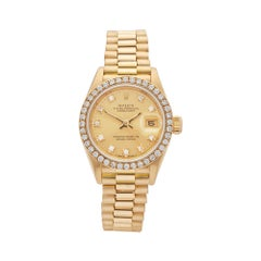 1989 Rolex Datejust Yellow Gold 69138 Wristwatch