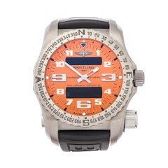 2015 Breitling Emergency II Titanium E76325A5 Wristwatch