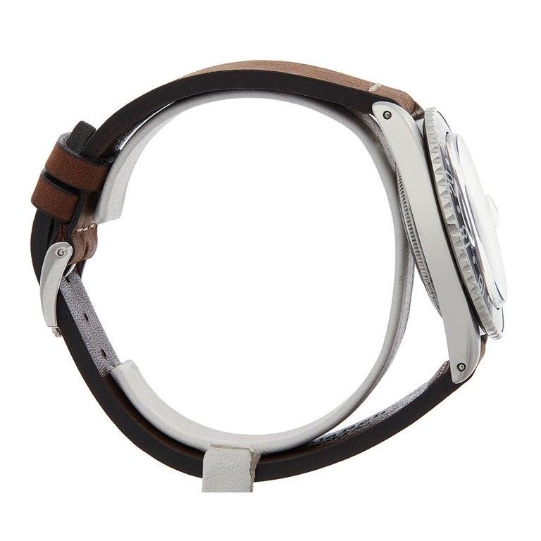 1963 Rolex GMT-Master Gilt Gloss Underline Dial Stainless Steel 1675 Wristwatch In Good Condition For Sale In Bishops Stortford, Hertfordshire