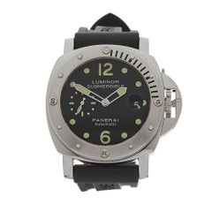 2016 Panerai Luminor Royal Navy Clearance Diver Stainless Steel Wristwatch