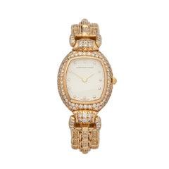1990's Audemars Piguet Vintage Diamond Set Yellow Gold Wristwatch