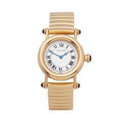 1996 Cartier Diablo Yellow Gold W15158M1 Wristwatch