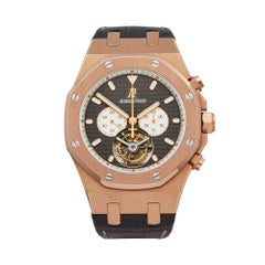 2014 Audemars Piguet Royal Oak Rose Gold 25977.OR.OO.D005.CR.01 Wristwatch