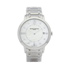 2016 Baume & Mercier Classima Stainless Steel MOA10225 Wristwatch
