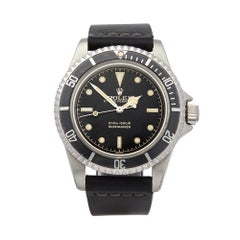 1962 Rolex Submariner Gilt Gloss Meters First Dial Pointed Crown Guards