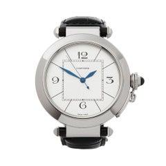 2010's Cartier Pasha de Cartier White Gold W3018751 Wristwatch