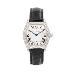 2009 Cartier Tortue White Gold WA503851 Wristwatch