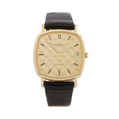 1979 Vacheron Constantin Vintage Yellow Gold 7390 Wristwatch