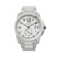 2017 Cartier Calibre Stainless Steel 3389 or W7100015 Wristwatch