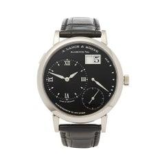 2016 A. Lange & Sohne Grand Lange One White Gold 117.028 Wristwatch