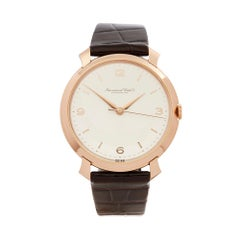 1960's IWC Vintage Shark Fin Rose Gold Wristwatch