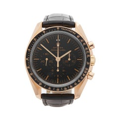 2007 Omega Speedmaster Chronograph 50th Anniversary Rose Gold Wristwatch