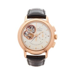2008 Zenith El Primero Chronomaster Chronograph Rose Gold Wristwatch