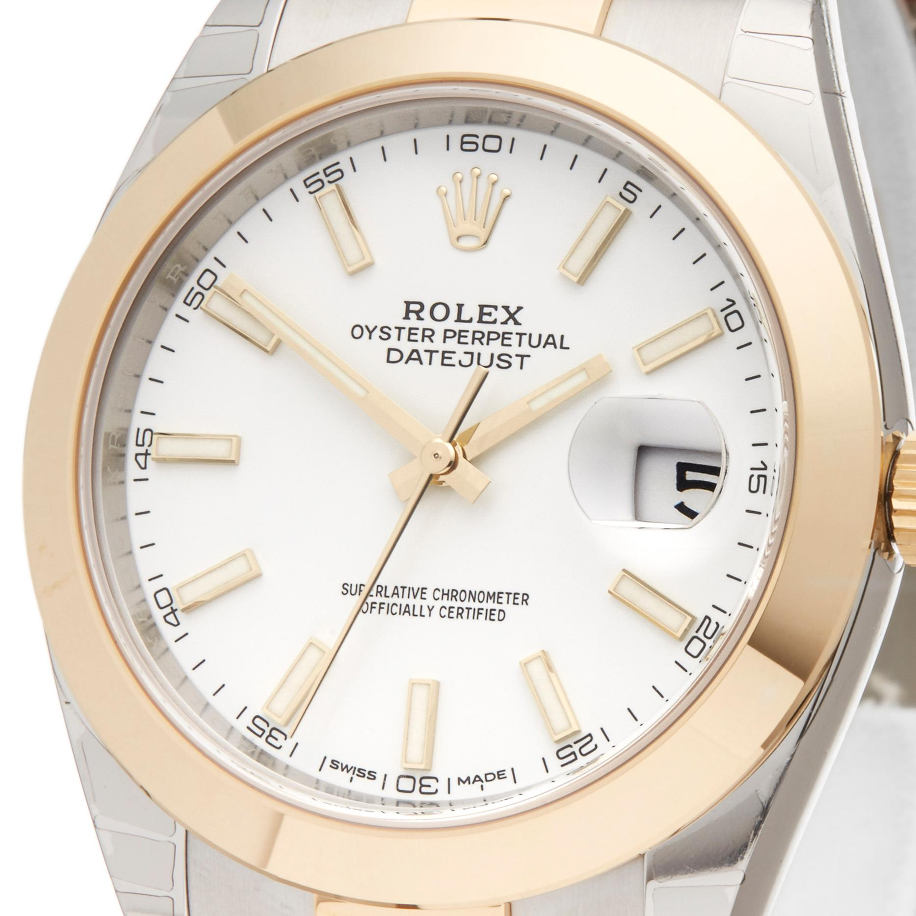 14a5613f3a8 2016 Rolex Datejust Stahl and Gelbgold 126303 Armbanduhr bei 1stdibs