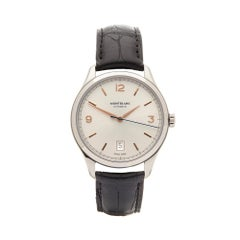 2017 Montblanc Heritage Stainless Steel 112520 Wristwatch