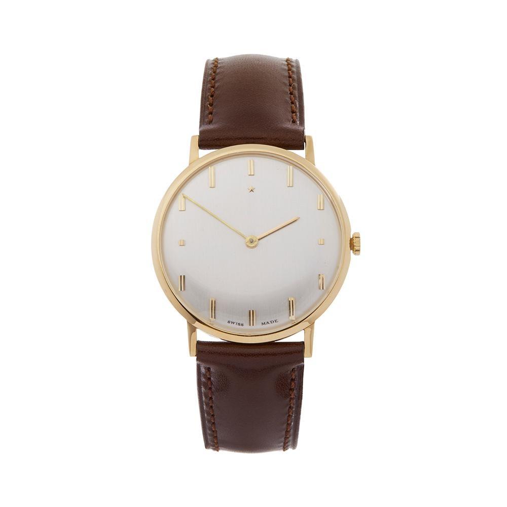 1980's Zenith Vintage Yellow Gold Wristwatch