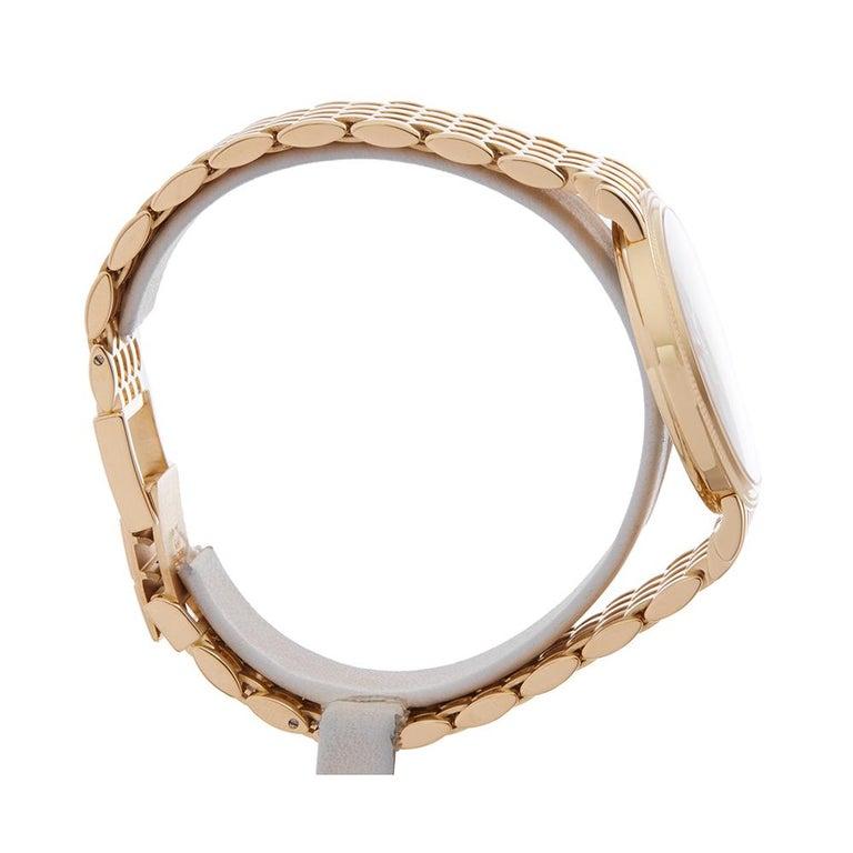 2010's Patek Philippe Calatrava Yellow Gold 5120J-001 Wristwatch For Sale 1