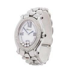 2000's Chopard Happy Sport Stainless Steel 8937 Wristwatch