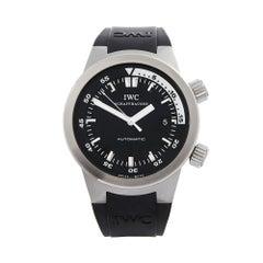 2010's IWC Aquatimer Stainless Steel IW354807 Wristwatch