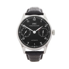 2010's IWC Portuguese Stainless Steel IW500109 Wristwatch
