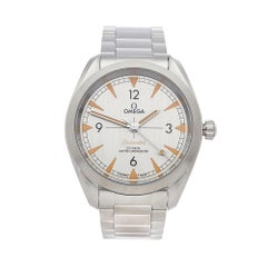 2018 Omega Railmaster Stainless Steel 22010402006001 Wristwatch
