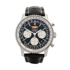 2014 Breitling Navitimer Chronograph Stainless Steel AB0120 Wristwatch