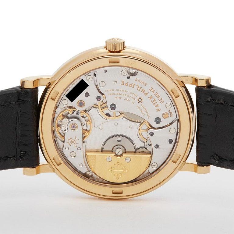 2000's Patek Philippe Calatrava Stainless Steel 5120 Wristwatch In Excellent Condition For Sale In Bishops Stortford, Hertfordshire