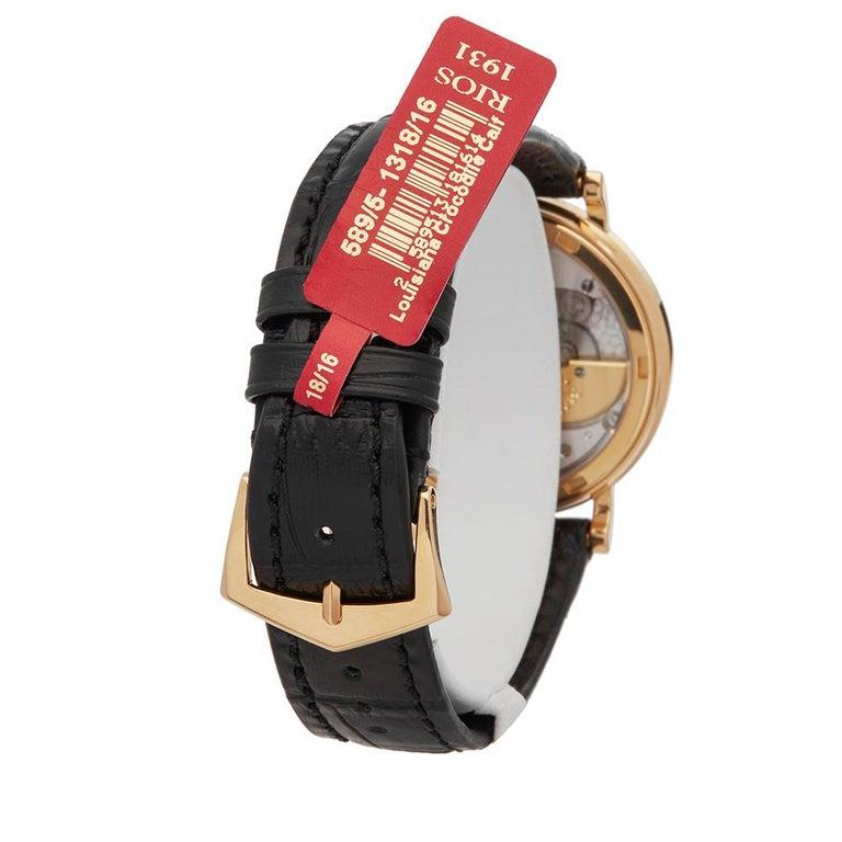 Men's 2000's Patek Philippe Calatrava Stainless Steel 5120 Wristwatch For Sale