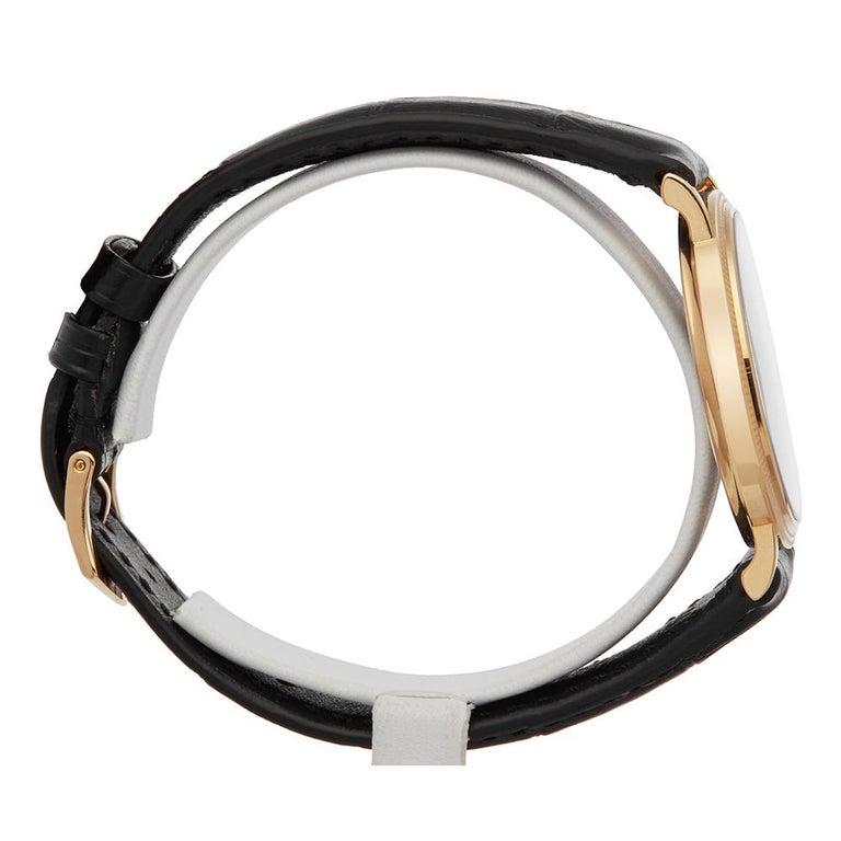2000's Patek Philippe Calatrava Stainless Steel 5120 Wristwatch For Sale 1