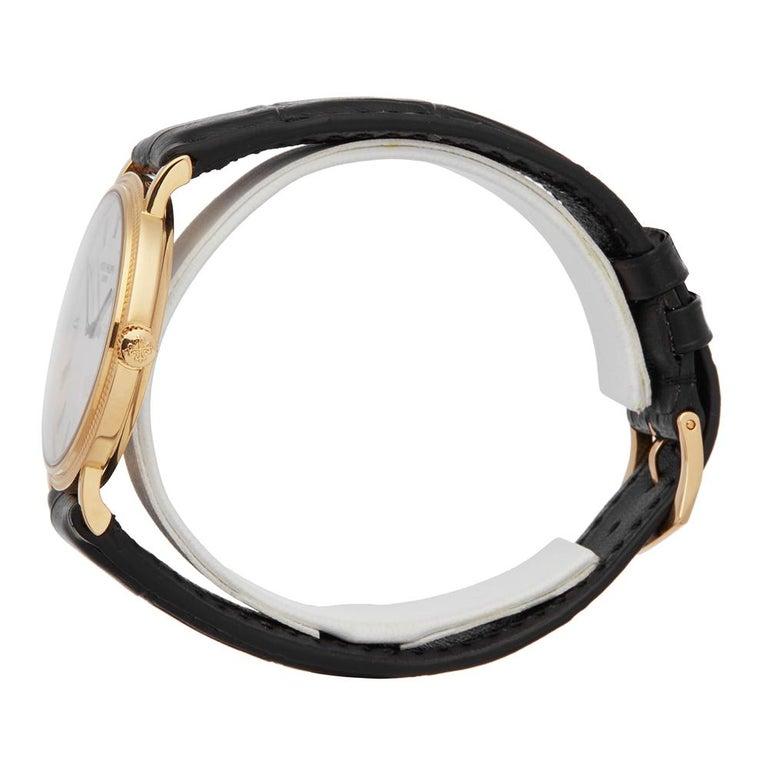 2000's Patek Philippe Calatrava Stainless Steel 5120 Wristwatch For Sale 2