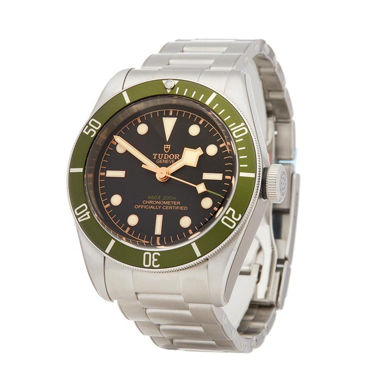 b2ff5cbb1df 2018 Tudor Heritage Black Bay Harrods Stainless Steel 79230G Wristwatch For  Sale at 1stdibs