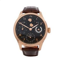 2008 IWC Portuguese Rose Gold IW502119 Wristwatch