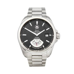 2010 Tag Heuer Grand Carrera Stainless Steel WAV511A Wristwatch