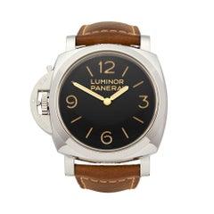 2015 Panerai Luminor Stainless Steel PAM00557 Wristwatch