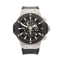 2000's Hublot Big Bang Aero Bang Stainless Steel 311.SM.1170.GR Wristwatch