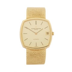 1981 Vacheron Constantin Vintage Yellow Gold 44005 Wristwatch