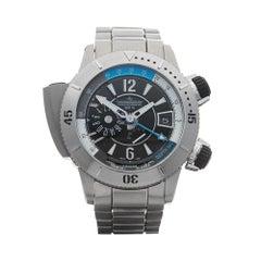 2010's Jaeger-LeCoultre Master Compressor Diving Pro Geo Titanium Wristwatch