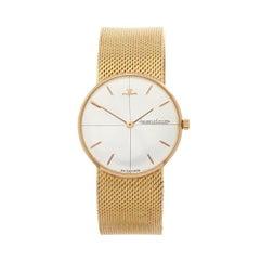 1950's Jaeger-LeCoultre Vintage Yellow Gold Wristwatch