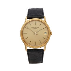 2000's Patek Philippe Calatrava Yellow Gold Wristwatch