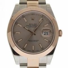 Rolex New Datejust II 126301 Steel Gold Sundust 2018 Box/Paper/Warranty #RL315
