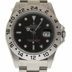 Rolex New Explorer II 16570 Automatic Steel Black Box/Papers/Warranty #RL325