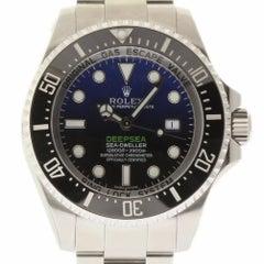 Rolex New Deep-Sea Deep Blue Sea-Dweller 116660 2018 Box/Paper/5 Year Warranty
