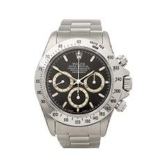1995 Rolex Daytona Patrizzi Stainless Steel 16520 Wristwatch