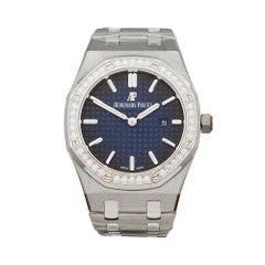 2018 Audemars Piguet Royal Oak Boutique Platinum Titanium Wristwatch