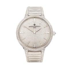 2017 Vacheron Constantin Patrimony White Gold 86615/CA2G-9838 Wristwatch